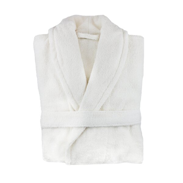 Bradley 100% Turkish Cotton Bathrobe by Eider & Ivory
